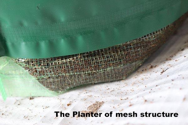 野菜ハーブ栽培プランター構造