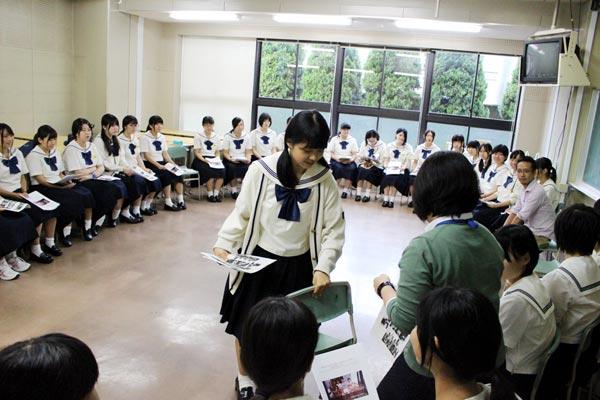 博多女子高校 福岡 商品開発