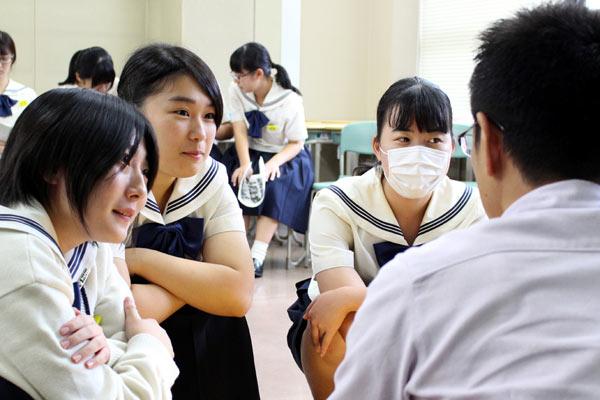 博多女子高校 トータルビジネス科 商品開発授業 福岡